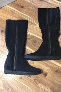 Brand NEW Geox ladies suede boots - size 40 EUR /9-9.5 US Mississauga, L4Z
