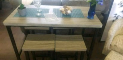 5 PC counter height dinette set