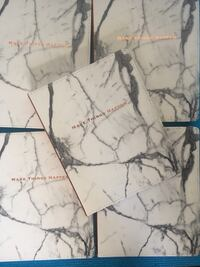"""Notebook """"Make Things Happen"""" white marble journal"""