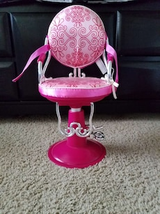 Doll salon chair - fits American Girl dolls