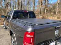 "Genuine Mopar Soft Tri-Fold Tonneau Cover for 5'7"" Bed With RamBoxes"