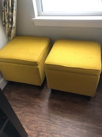 Pair of storage Ottomans  Rockville, 20852