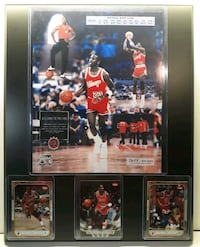 Michael Jordan 1st NBA game plaque  Los Angeles, 90011