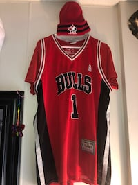 red and black Nike basketball jersey Edmonton, T5J 4X1