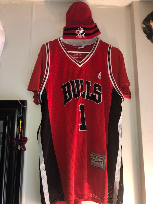 red and black Nike basketball jersey