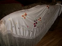 Embroidered shawl Severn