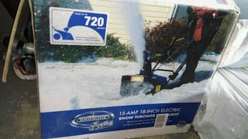 Snowblower in the box