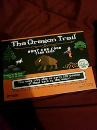 The Oregon Trail card game box Modesto, 95351