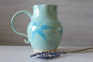 Handmade ceramic vase/pitcher