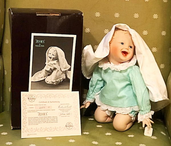 Yolanda Bello Picture Perfect Babies Doll Collection 1989 Jessica