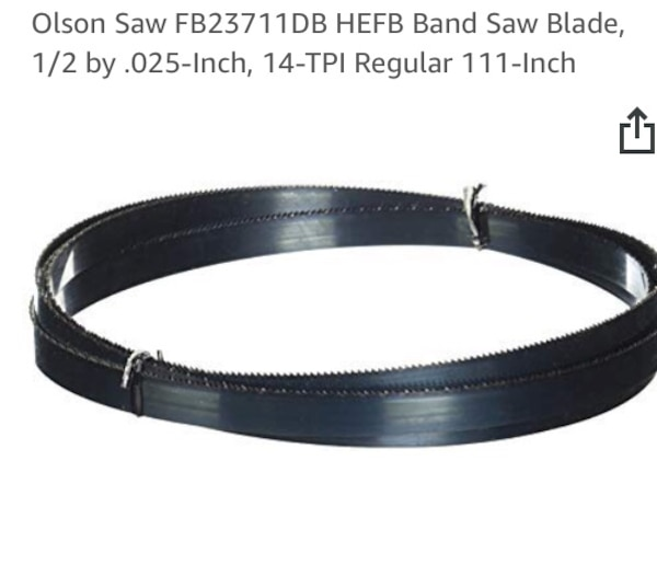 New and unused.. Olson Saw Blades 1/2 by .025-Inch