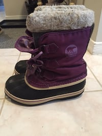 Sorel Youth Purple Boots Mississauga, L5N 4L7