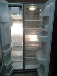 white side-by-side refrigerator null
