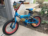 Blue and black bmx bike Wildwood, 63040