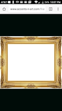 Antique Gold Frames 20x24 Ashburn, 20148