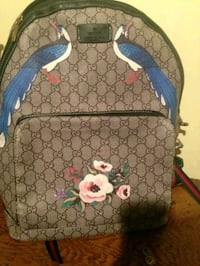 brown and blue Gucci backpack Fayetteville, 28306