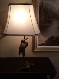 black and white table lamp Beaconsfield, H9W 6A3