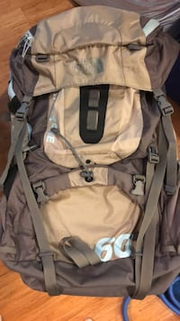 Northface Crestone 60 Backpack backpacking Boston, 02111