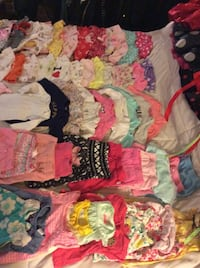 100 + piece new born -3 month baby girl clothing lot