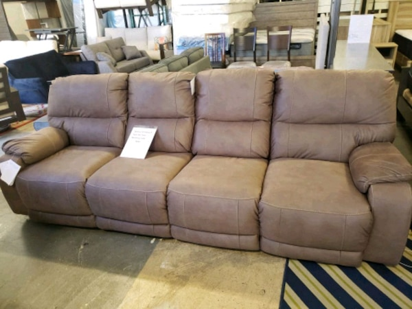 Brand New Ashley XXL 4 Seater Power recliner sofa tax included