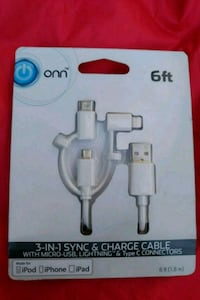 3 in 1 charging cord Berlin Center, 44401