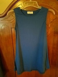 Southern Chics Blue Sleeveless Top Ocean Springs, 39564