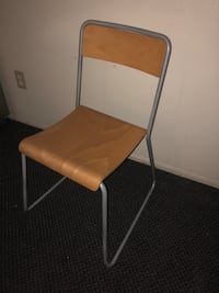 brown and gray folding chair Chico, 95928