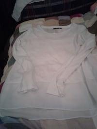 ANA A NEW APPAUACH BLOUSE SIZE M