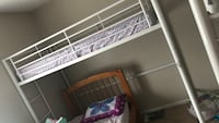 Grey metal loft beds no mattress included two for sale Columbus, 43016