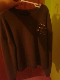 black sweat shirt Kingsclear, E3E