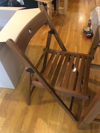 Kitchen table and foldable chairs New York, 11222