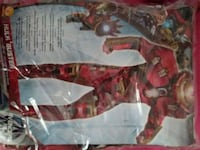 NEW! ADULT MEDIUM COSTUME IRONMAN HULKBUSTER NWT Pewaukee, 53072