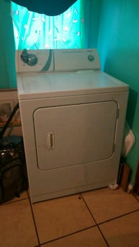 white front-load clothes dryer Abilene, 79602