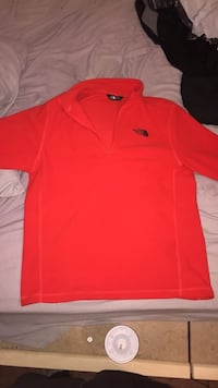 Men's North Face 1/4 zip LG Lake Charles, 70611