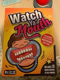 Watch ya mouth party board game