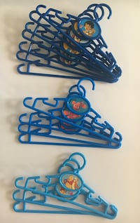 Kids clothes hangers- 14 in total