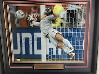 Signed and framed Hope solo 15 km