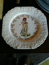 vintage lord nelson pottery pinky lawrence plate Toronto, M4L 1Y7