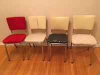 Original 50's 60's Style Vintage Vinyle Table & Chairs Toronto, M5P 3N3