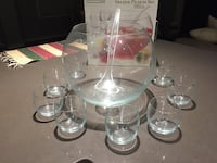 Libbey Glass Punch Set Calgary, T3M 2E3