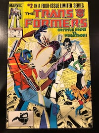Marvel Comic - Transformers, Vol.1 No.2, Oct 1984. Mint condition null, 11211
