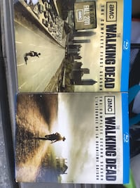 Walking dead seasons 1 & 2