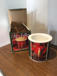 Chilling dip dish
