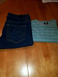 NEW DC MENS JEANS & SHIRT Westbank, V4T 2W3
