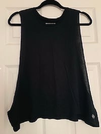 Forever 21 Black Cut Off Tank Top (Size Large) Oxnard, 93033