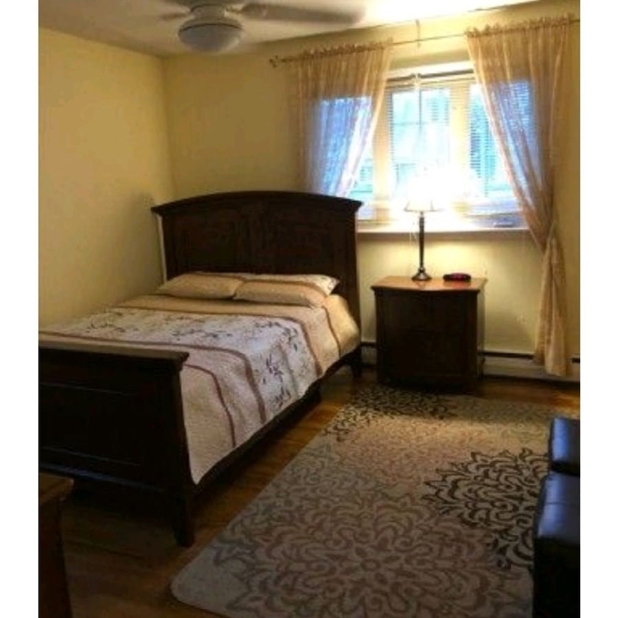 Ramour and Flanigan queen size bed and dresser