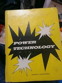 Power Technology by George E. Stephenson book