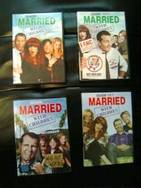 four assorted DVD movie cases Silver Spring, 20907