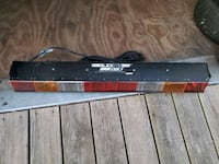 Light bar for tow truck or pick up trucks