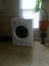 white front-load washer  Augusta, 30909